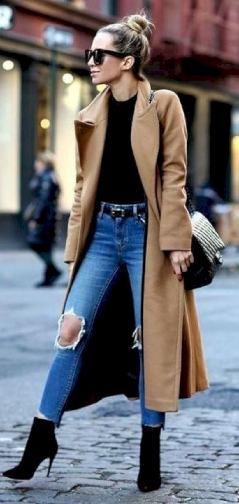 49c8efac6b4 Awesome 40 Cute Casual Winter Fashion Outfits for Women  https   looksglam.com
