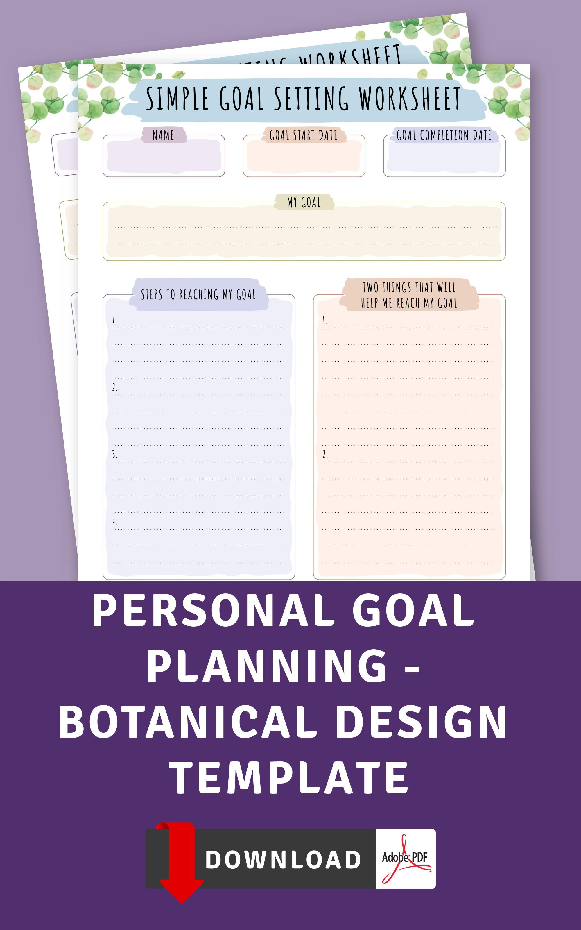 Personal Goal Planning