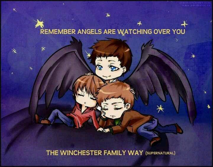 As a Whovian, Cas is the only angel I'll trust.
