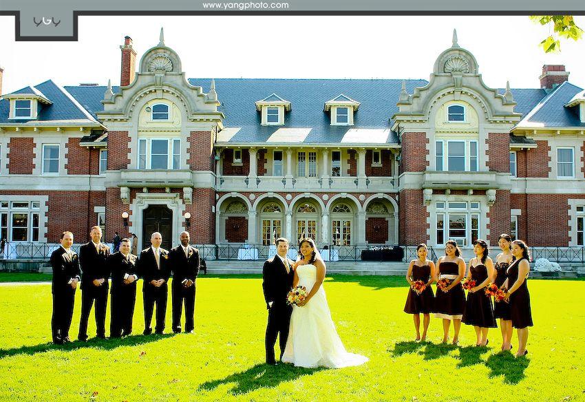 Ny mansion wedding