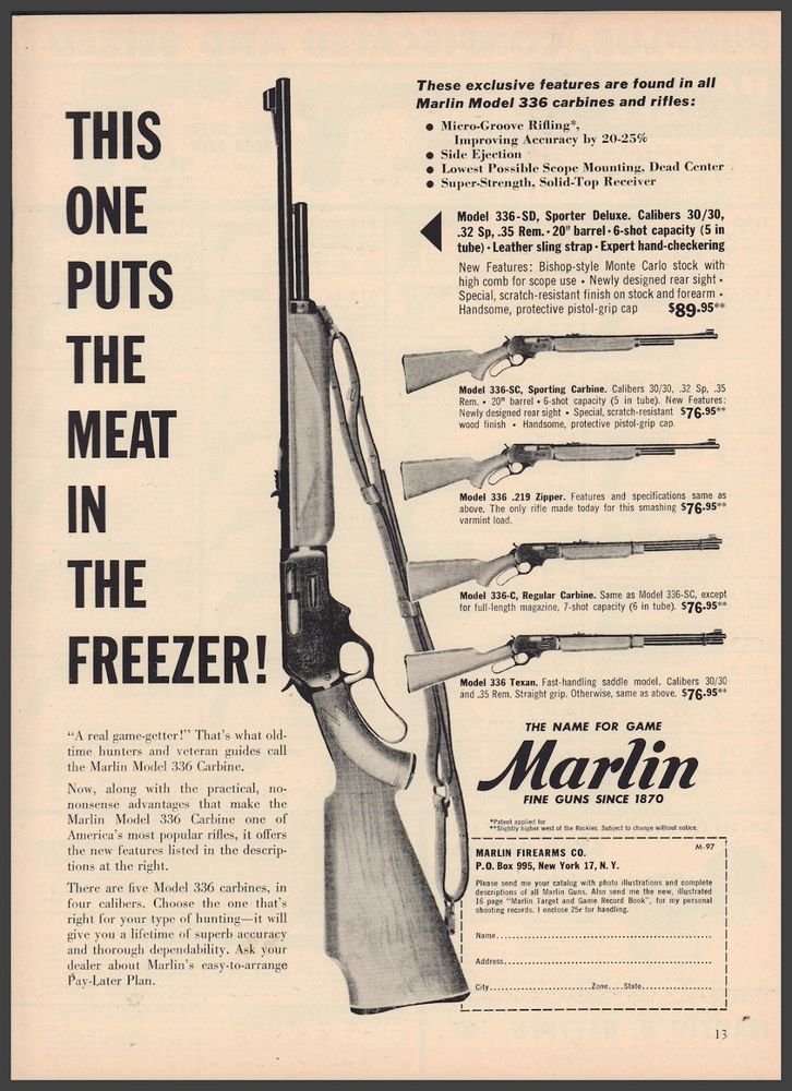 Marlin 336 texan schematic wiring diagram portal 1957 marlin 336 sd carbine rifle ad 336 sc 336 336 c 336 texan rh pinterest com marlin model 60 rifle parts diagram marlin model 81 parts diagram ccuart Gallery