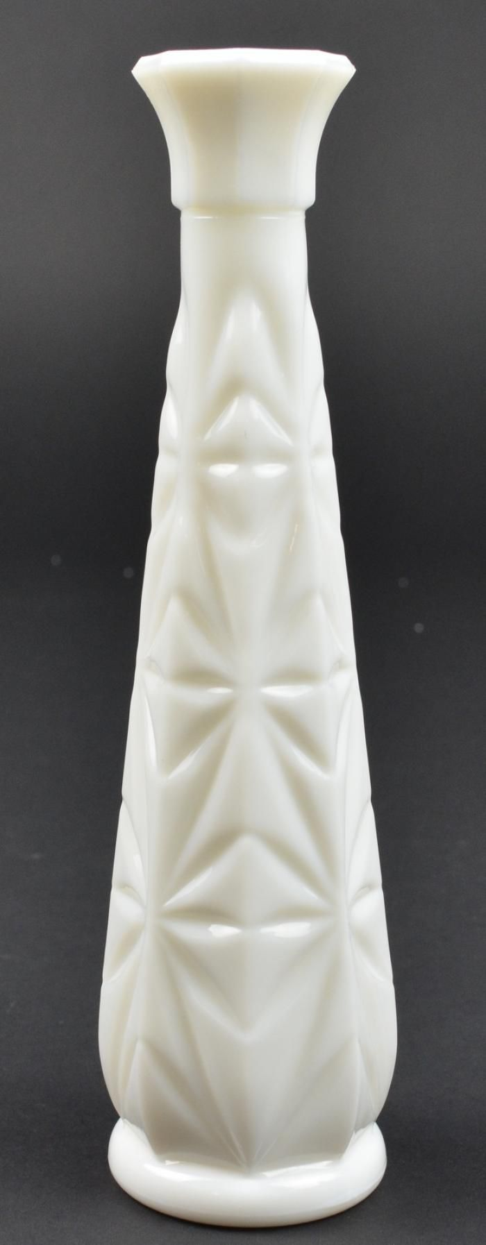 Milk glass vases value hoosier glass starburst milk glass milk glass vases value hoosier glass starburst milk glass pattern bud vase floridaeventfo Gallery