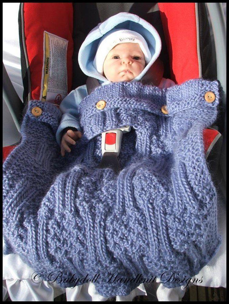 Blanket Knitting Patterns, Car Seat Blanket Cover