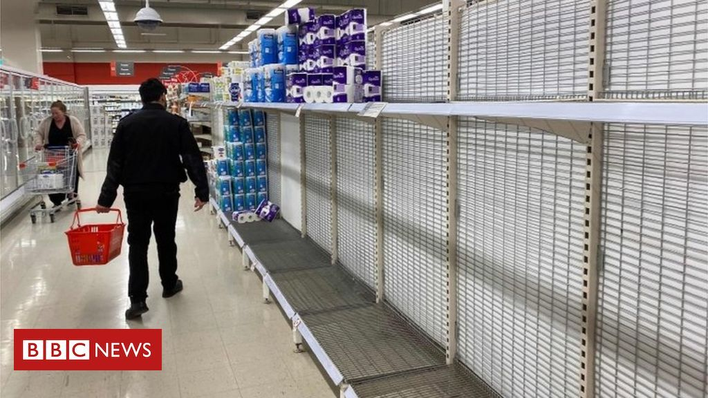 Australia caps toilet roll sales after panicbuying BBC News