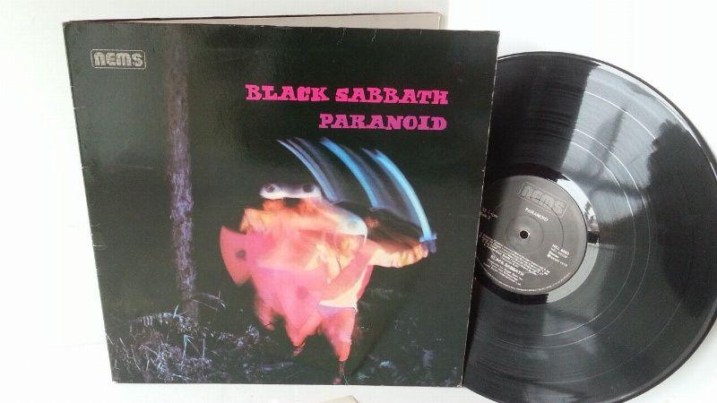 Black Sabbath Paranoid Nel 6003 Gatefold Black Sabbath Vinyl Record Shop Vinyl Records