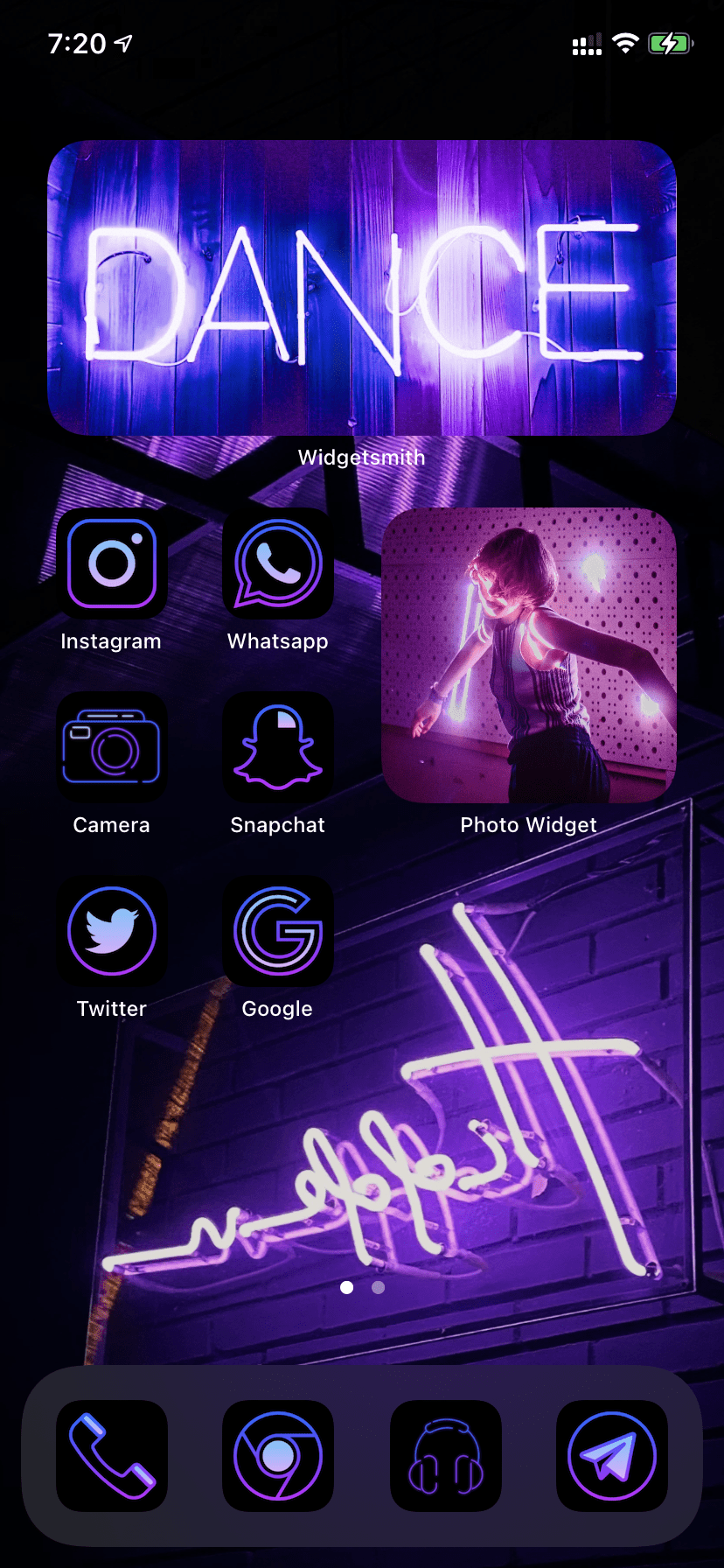 How To Create An Aesthetic Home Screen In Ios 14 With Custom App Icons And Photo Widgets All Things How In 2020 Homescreen Iphone Homescreen Iphone Wallpaper App