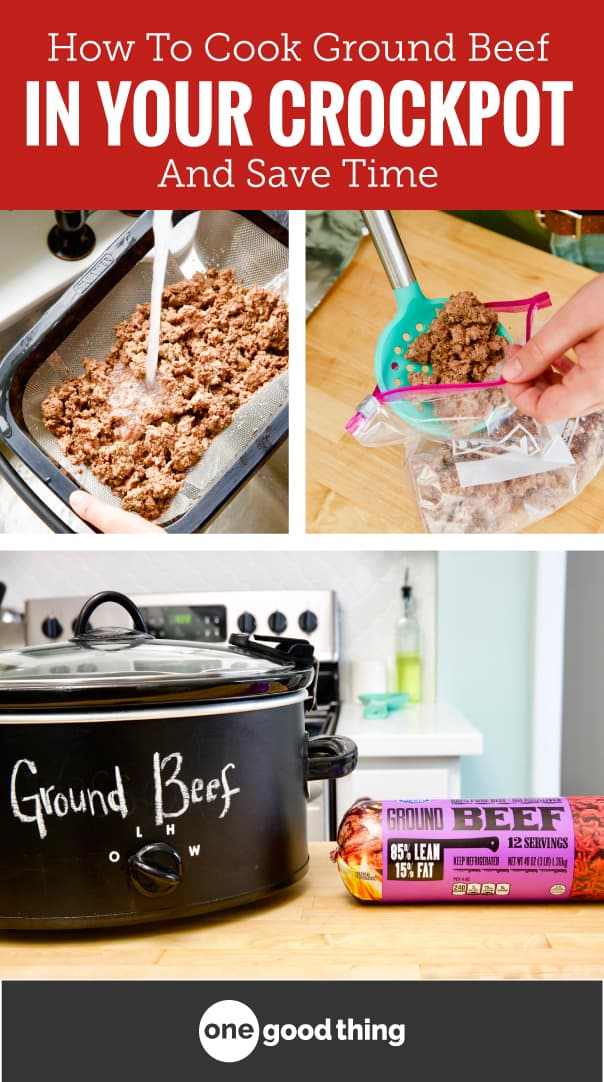 How To Cook Ground Beef In Your Crockpot And Save Time images