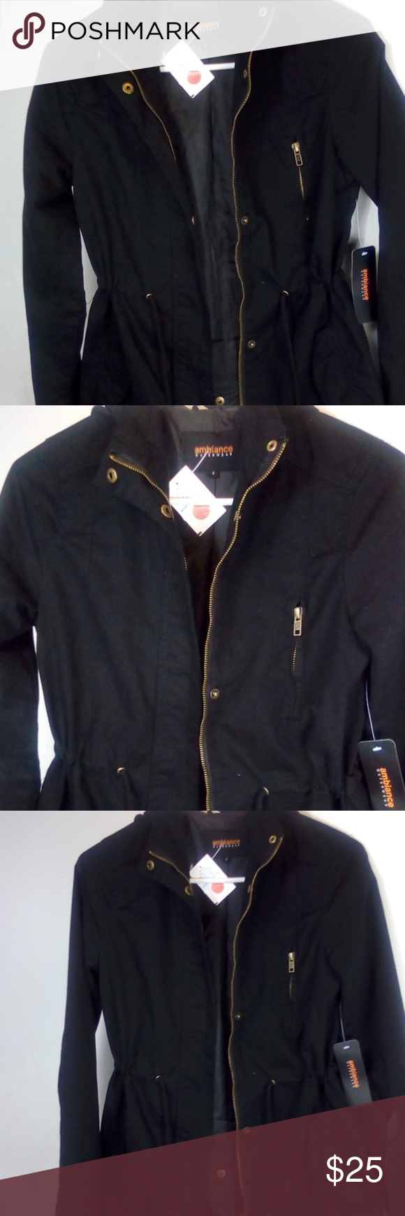 Hooded Jacket By Ambiance Outerwear Jackets Clothes Design Hooded Jacket [ 1740 x 580 Pixel ]