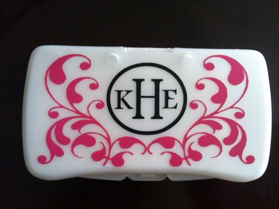 Personalized flourish baby wipes travel case kenzie rae personalized flourish baby wipes travel case negle Choice Image