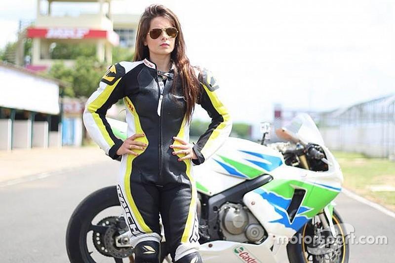 Alisha Abdullah Car And Motorbike Racer From India Biker Girl