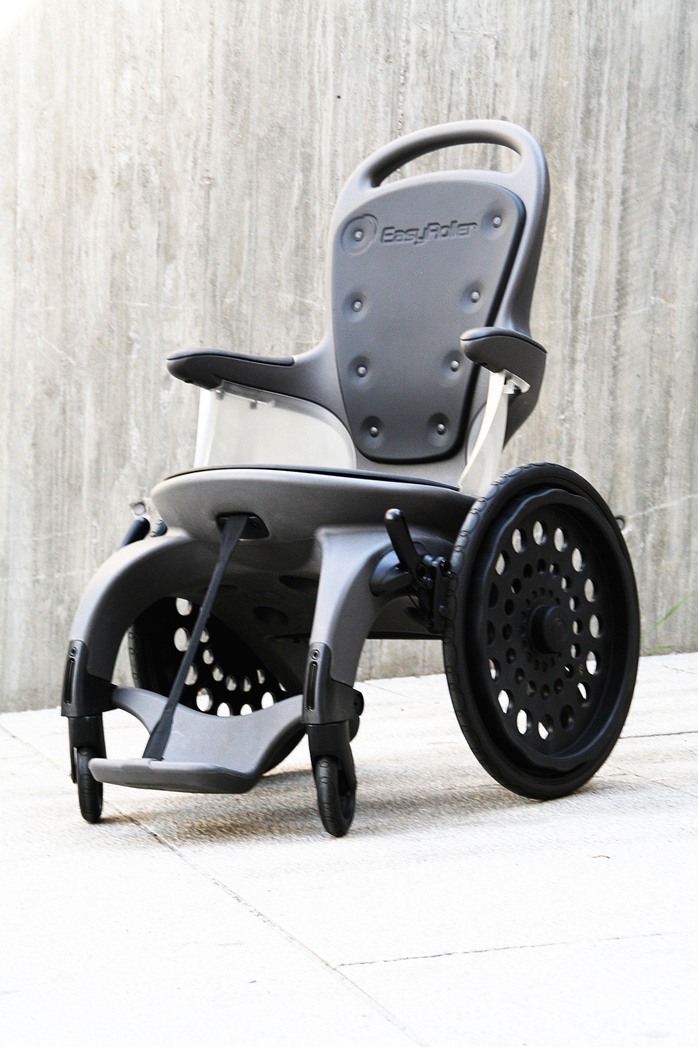Fauteuil Roulant Amagnetique Easyroller 100 Plastique Handicapes Medical Design Massage Chair Wheelchair