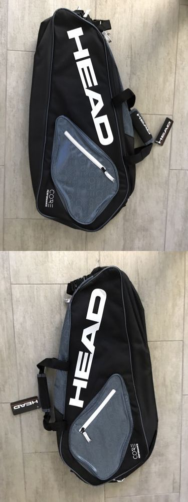 Bags 20869 New Head Core Performance 6r Combi Black And Grey Tennis Bag Buy It Now Only 42 On Ebay Performance Combi Black Ten Bags Tennis Bag Black