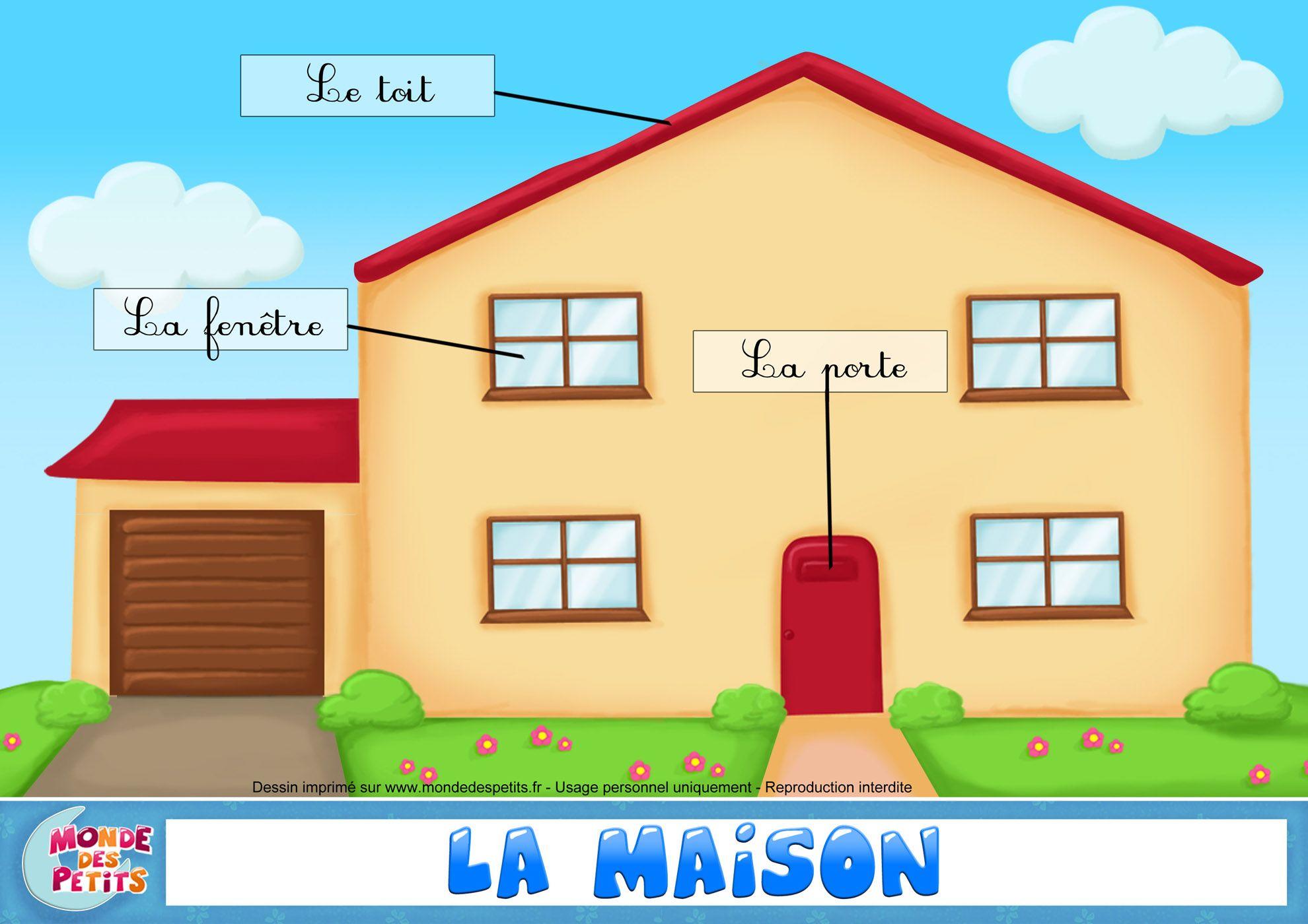 Apprendre Vocabulaire Maison Francais (1980×1400)
