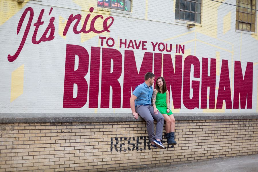 Engagement Shoot In Birmingham Alabama Birmingham Alabama