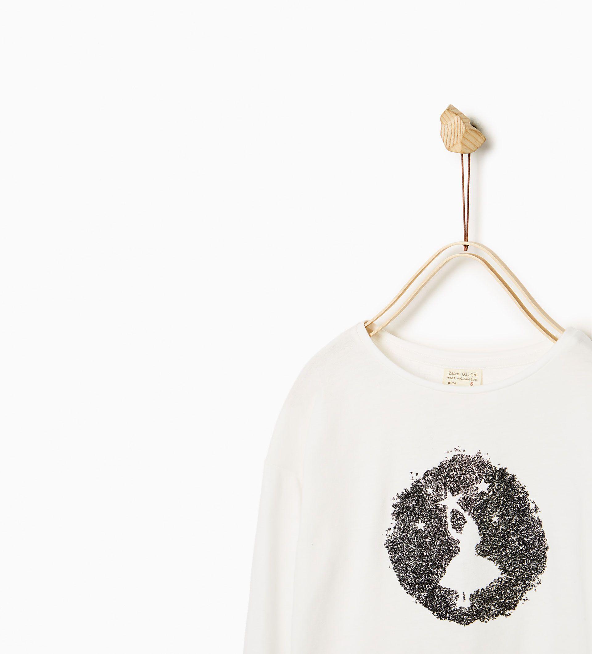 This Caviar Print Top from Zara is super cute! £8.99