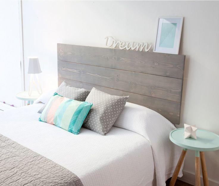 Resultado de imagen de cabeceros de madera decogarden - Cabeceros de cama en madera ...