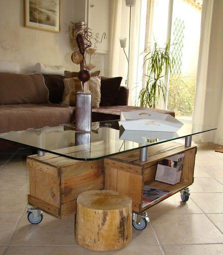 Muebles reciclados cajones de madera etc rut vigo - Muebles originales reciclados ...