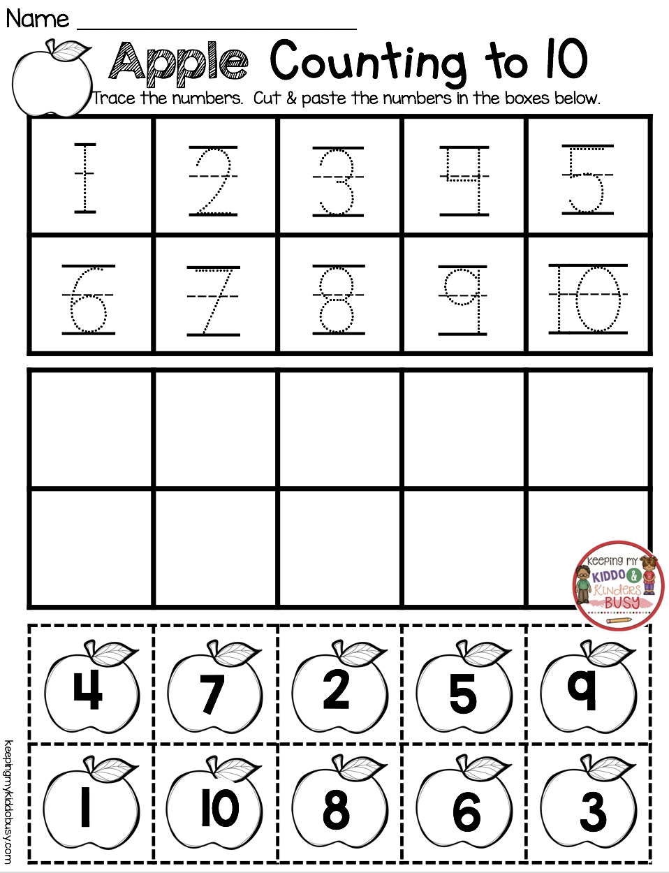 September Math And Literacy Pack Freebies Keeping My Kiddo Busy Fall Kindergarten October Math Preschool Math [ 1250 x 958 Pixel ]