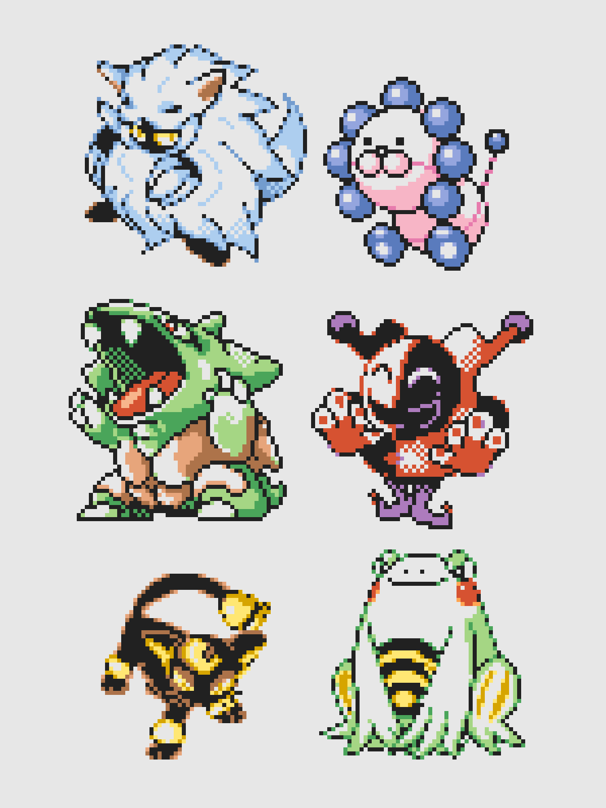 Six More Of Currently Thirty Seven Colorized Beta Scrapped Gen 1