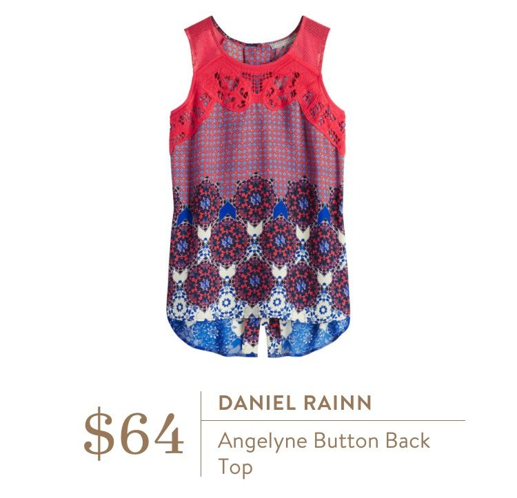 Fashion Beauty Apps: Love Everything About This Daniel Rainn Angelyne Button