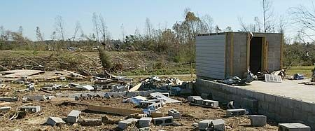 Safe Room was the only thing left after a tornado | Safe/Panic ...