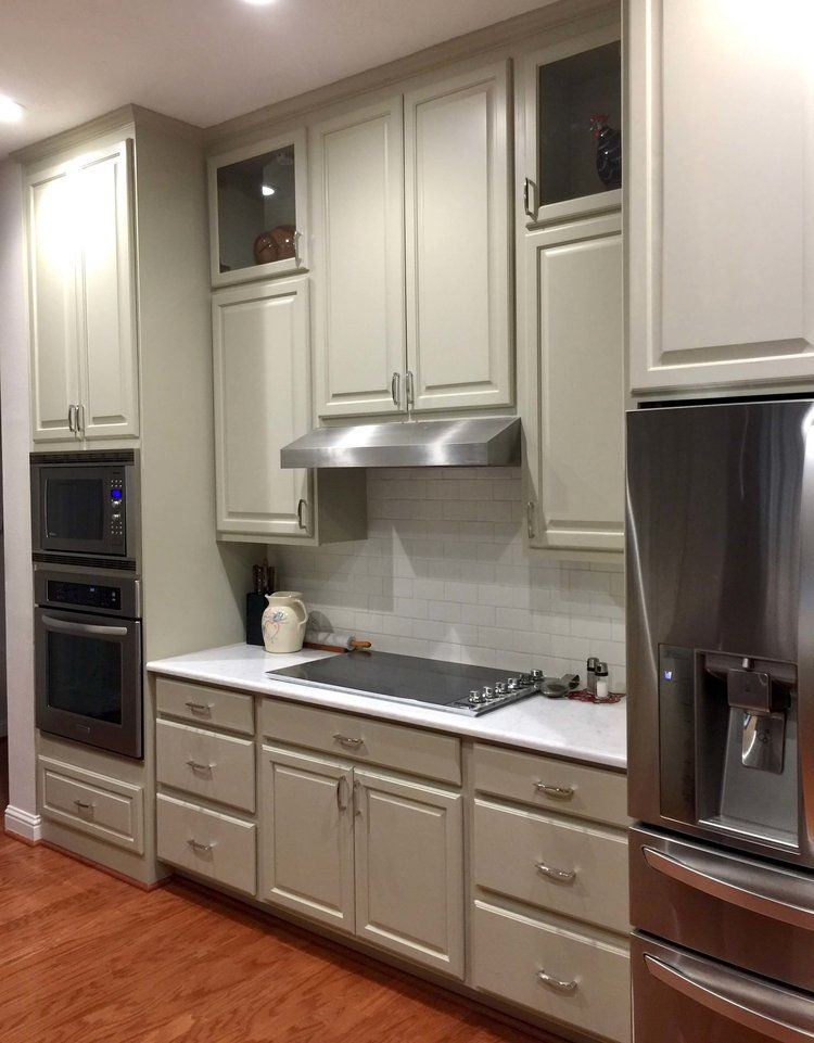 After Kitchen Remodel With New Induction Cooktop On The Back Wall Of The Kitchen With Venting Taken Up Kitchen Remodel Trends Kitchen Design Kitchen Remodel
