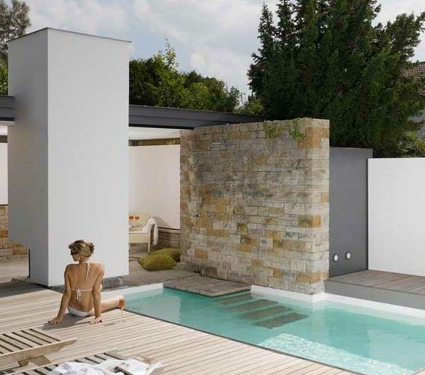 Une piscine pour lu0027été ? Luxury Outdoor Patios \ Pools Pinterest