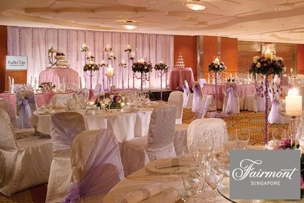 Fairmont Hotel And Swissotel The Stamford Singapore Wedding