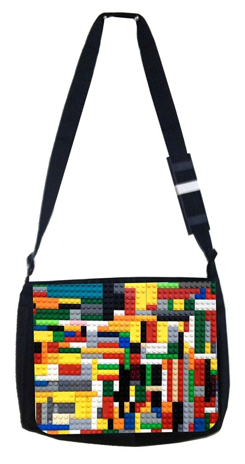 Building toy Rosie Parker Inc. TM Medium Sized Messenger Bag 11.75' x 15.5' and 4.5' x 8.5' Pencil Case SET *** You can get more details by clicking on the image. (This is an Amazon Affiliate link and I receive a commission for the sales)