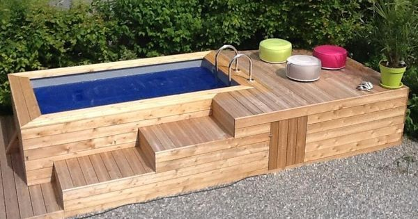 Pour Construire Une Piscine House Projects And House - Construire sa piscine hors sol