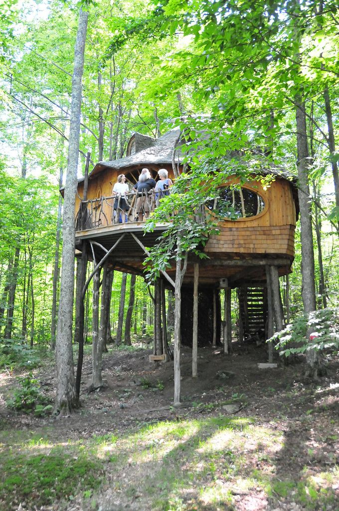 Treehouse in VT