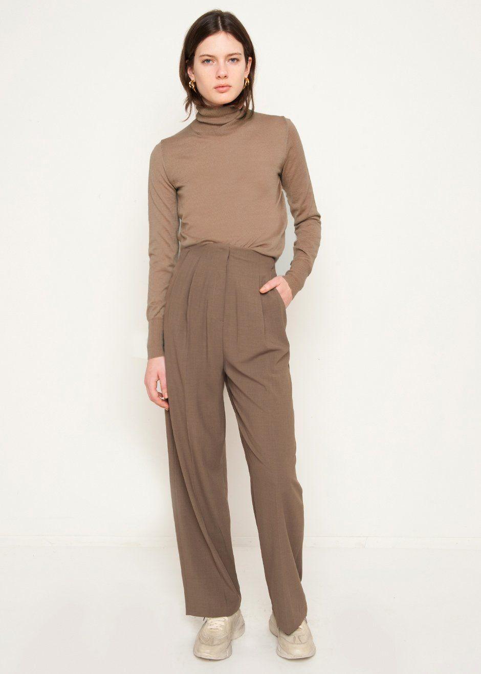 Pantalons Pour Les Femmes À La Vente, Vert Olive, Coton, 2017, 12 26 32 Fabiana Filippi