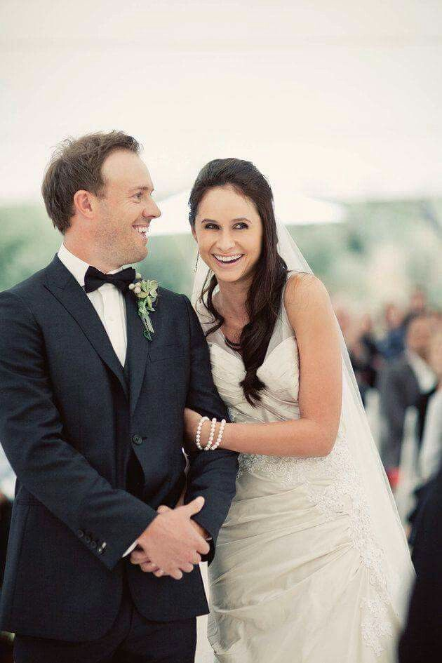 Ab De Villers And His Wife Cricket