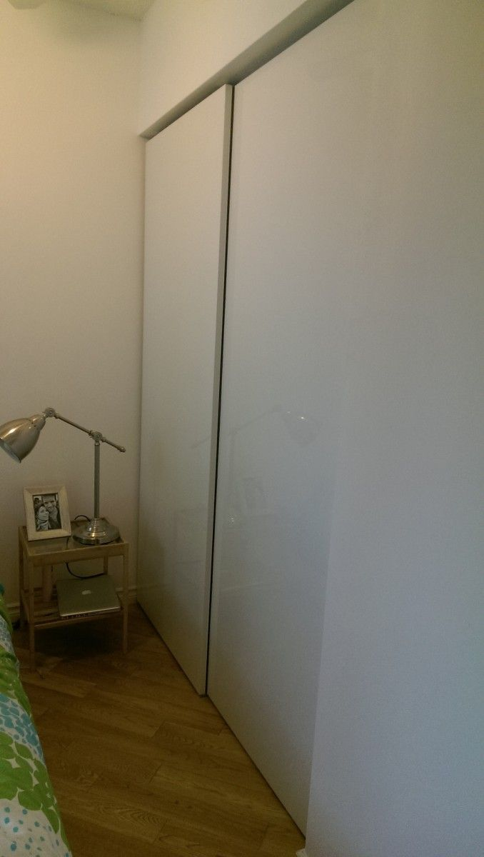 How To Use Ikea Pax Doors In Standard Closet Home Decor