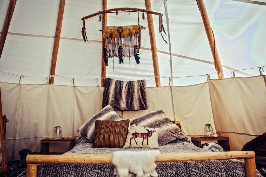 Upscale Camping in Authentic Tipi - Spirit Lodge - Tipis for