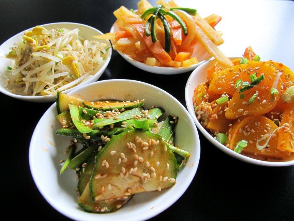 Korean Side Dishes: Cucumbers & Chives