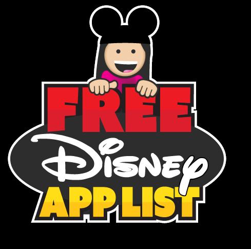 Free App List ** 76 free Disney apps!! ** Updated October