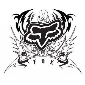 Pin By Jelly On Cabinet Fox Racing Tattoos Fox Racing Fox Racing Logo