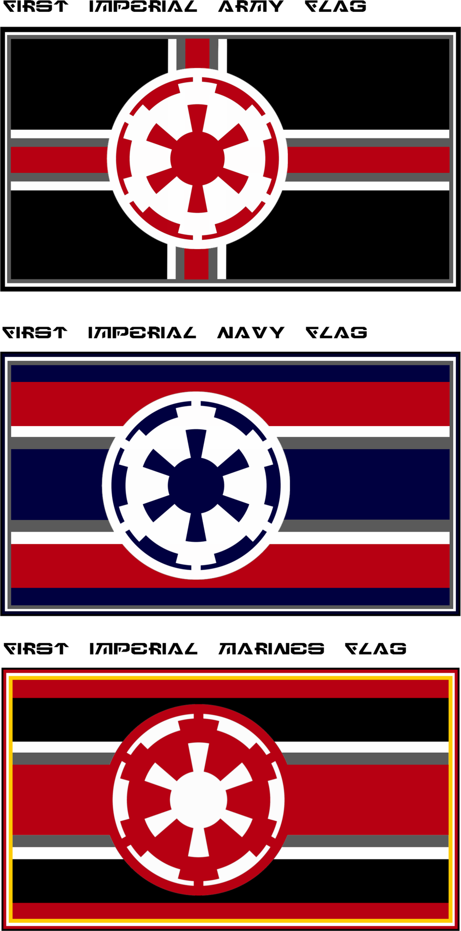 Imperial Military Flags By Viperaviator On Deviantart Star Wars Vehicles Star Wars Rpg Star Wars Poster