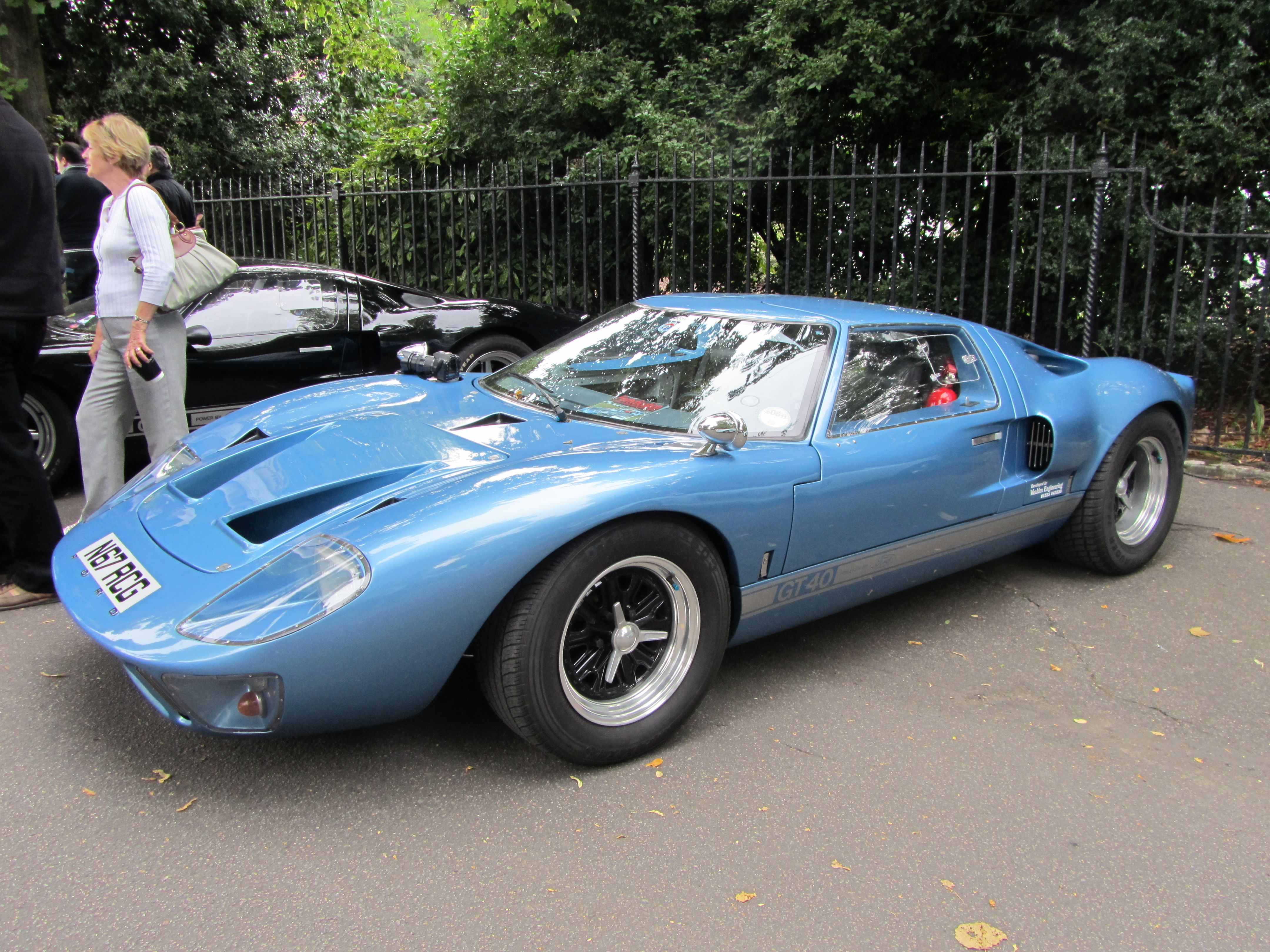 Ford Gt 40 Chelsea Auto Legends 2010