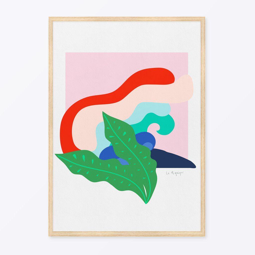 oaxaca coast daydreaming large a1 a2 giclée wall art print for