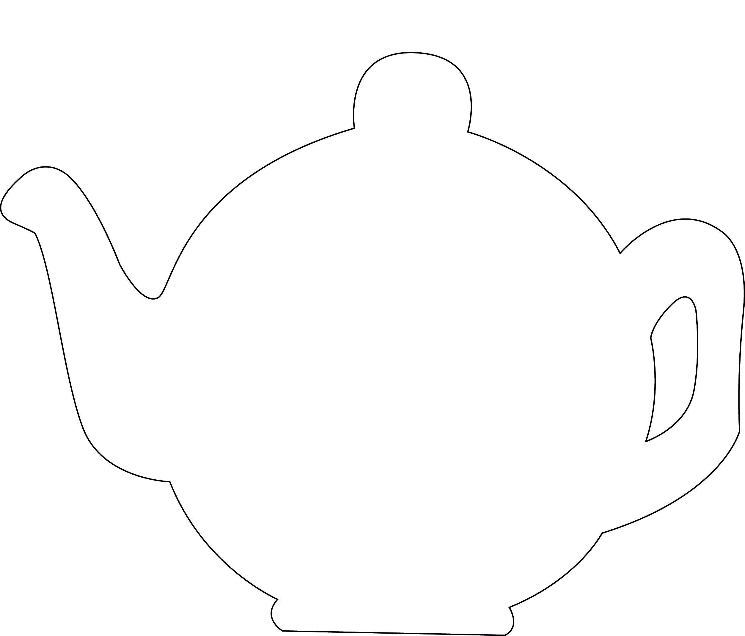PE135 COAK LOTV Teapot Template.jpg (2506×2140) | Craft Ideas ...