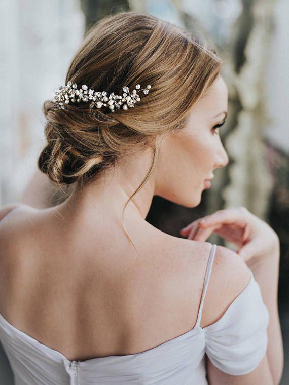 Hochzeit Haarschmuck, Braut Kamm, Braut-Haar-Accessoires