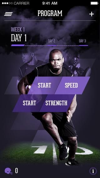NFL MVP Adrian Peterson Launches Fitness Training App - #Adrian #App #fitness #Launches #MVP #NFL #P...
