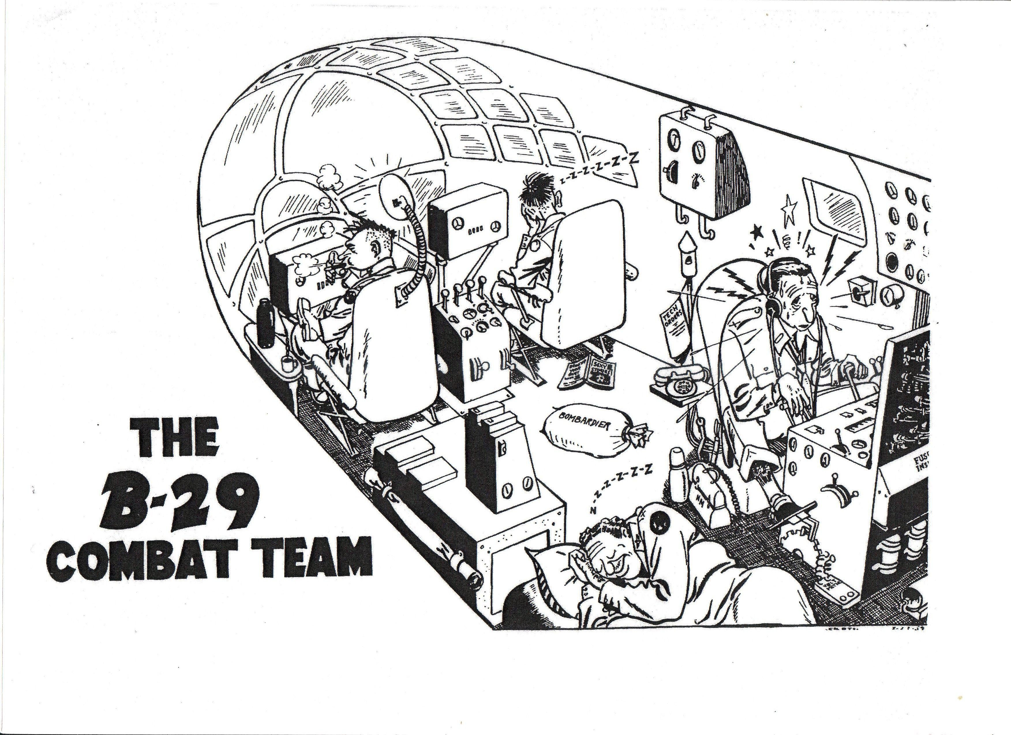 Pin On B29 Wwii Crews