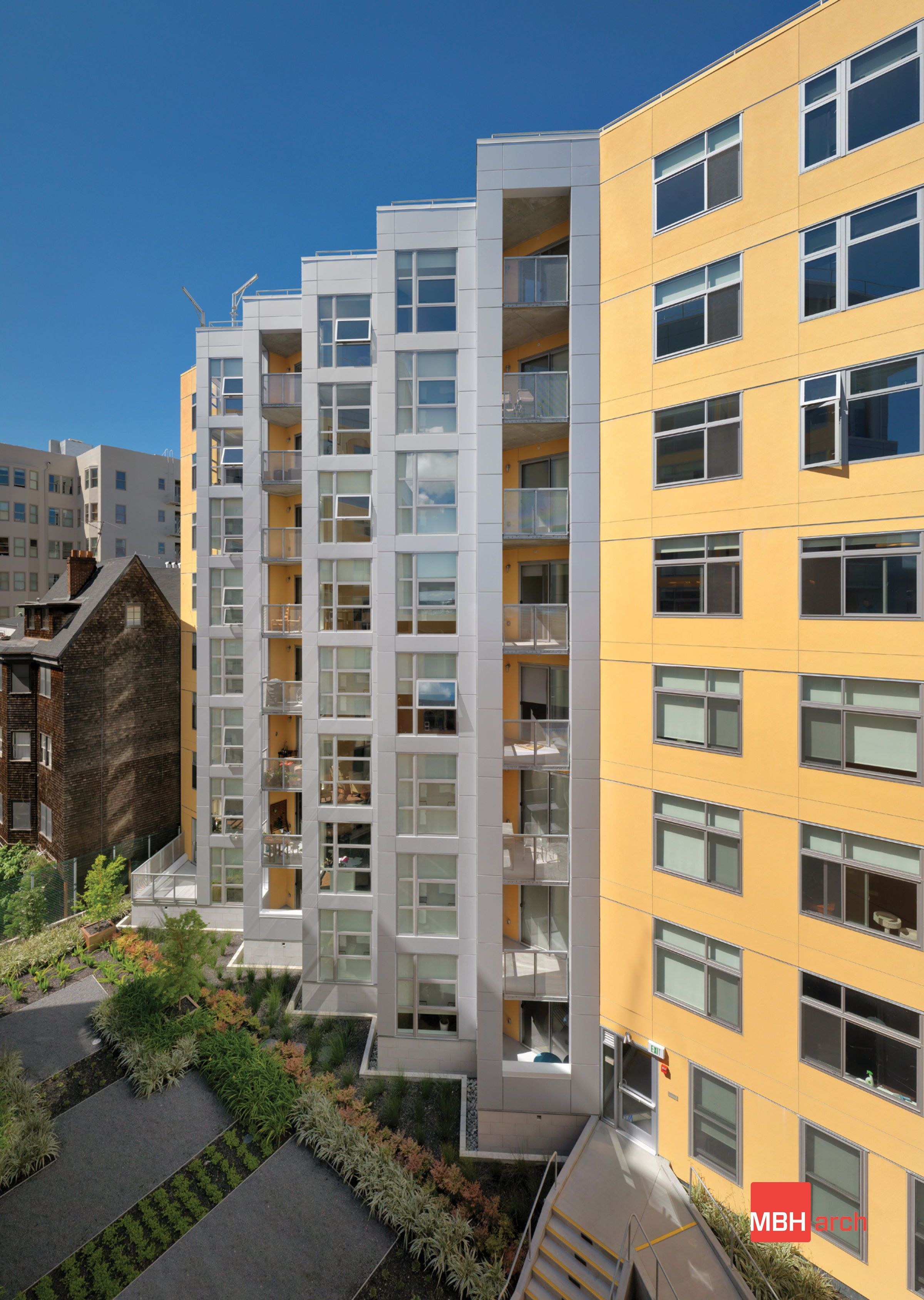 Venn Apartments Mbh Architects Is A Full Service Architecture Firm Headquartered In The San Franci Healthcare Architecture Architect Architectural Practice