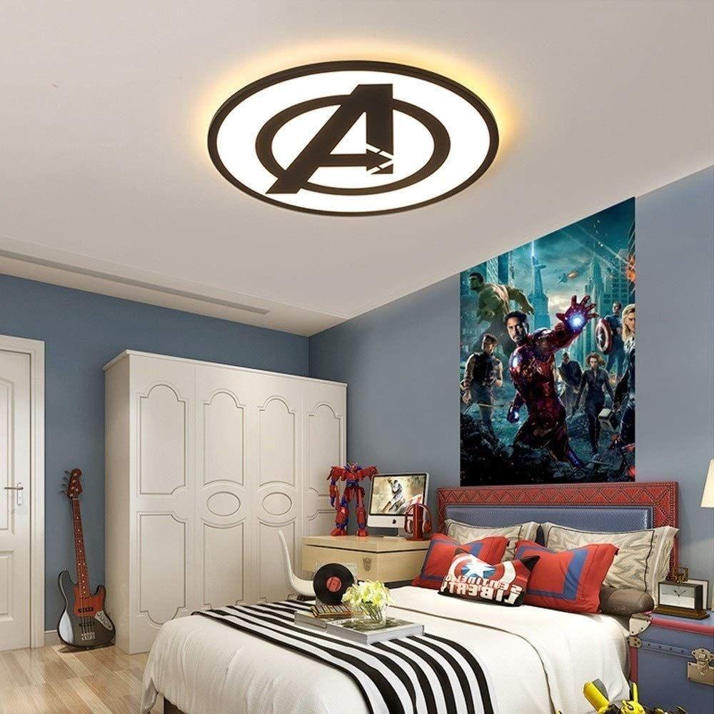 SHAOYH Avengers Kinderzimmer Lampe Deckenleuchte LED Decke
