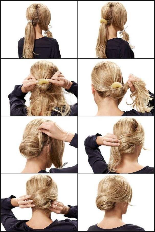 Frisur Selber Machen Hochsteckfrisur Moderne Mannliche Und Einfache Frisuren Frisuren Hairstyle Einfachefrisu Long Hair Styles Hair Styles Hairstyle