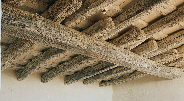 Envejecer y colorear vigas mi casa de campo pinterest - Vigas de roble antiguas ...