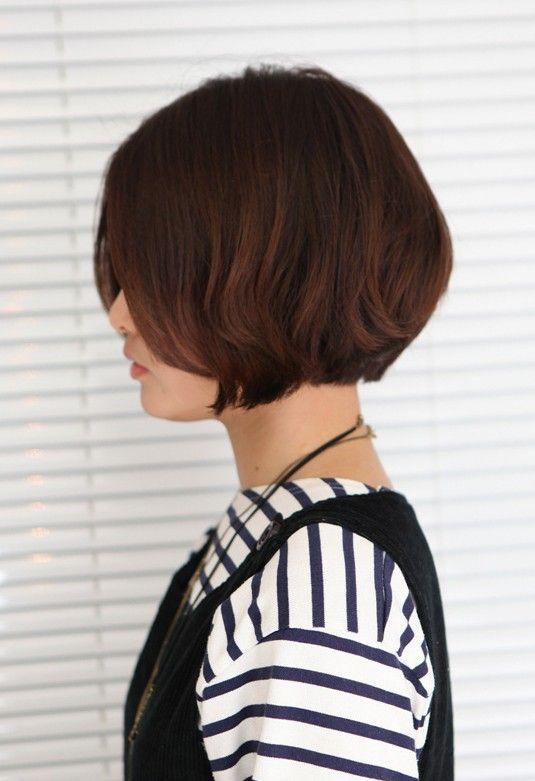 Terrific 1000 Images About Hair On Pinterest Bob Haircuts Cool Brown Short Hairstyles Gunalazisus